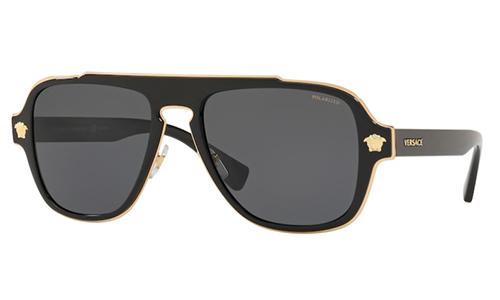 Versace 2199 SOLE 100281 56 Akiniai nuo saulės Vyrams