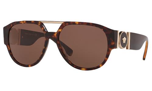 Versace 4371 SOLE 108/73 58 Akiniai nuo saulės Vyrams