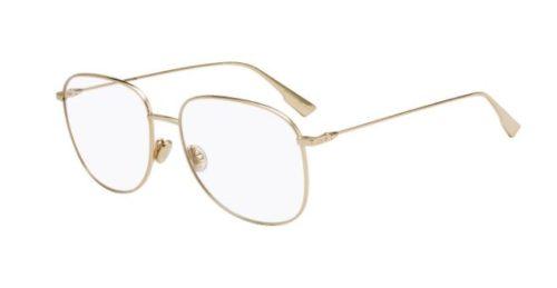 Christian Dior Diorstellaireo8 J5G/16 GOLD 56 Akinių rėmeliai Moterims