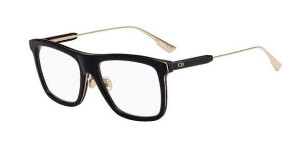 Christian Dior Mydioro1 807/17 BLACK 54 Akinių rėmeliai Moterims