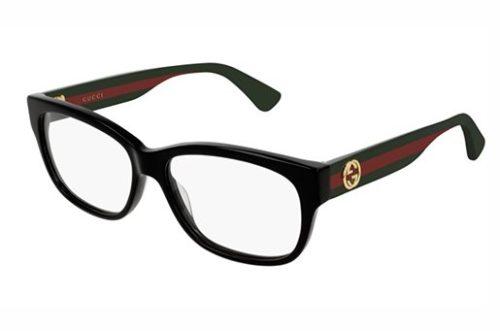 Gucci GG0278O 011 black multicolor tran 55 Akinių rėmeliai Moterims