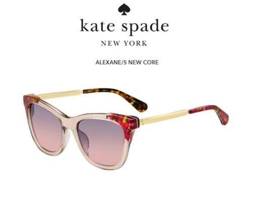 Kate Spade Alexane/s OBL/FF GRAPHIC PINK 53 Akiniai nuo saulės Moterims