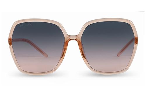 Bolon BL5032 transparent orange pink 58 Akiniai nuo saulės Moterims