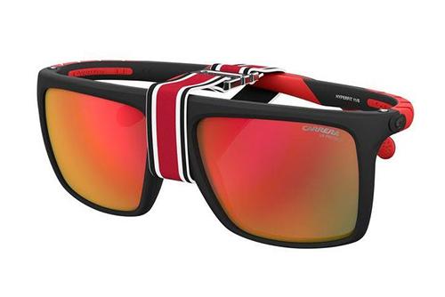 Carrera Hyperfit 11/s BLX/UZ MT BLK RED 57 Akiniai nuo saulės Vyrams