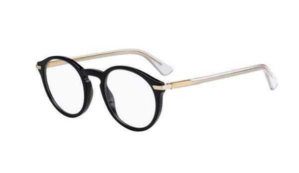 Christian Dior Dioressence5 7C5/22 BLACK CRYSTL 49 Akinių rėmeliai Moterims