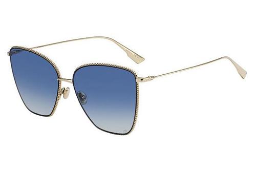 Christian Dior Diorsociety1 J5G/84 GOLD 60 Akiniai nuo saulės Moterims