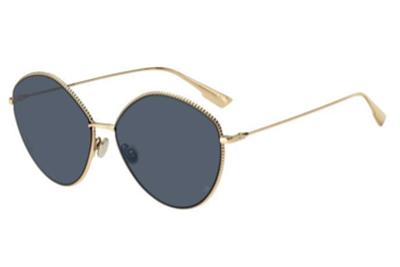 Christian Dior Diorsociety4 J5G/KU GOLD 61 Akiniai nuo saulės Moterims