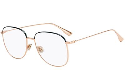 Christian Dior Diorstellaireo8 PEF/16 GOLD GREEN 56 Akinių rėmeliai Moterims