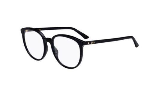 Christian Dior Montaigne54 807/19 BLACK 53 Akinių rėmeliai Moterims