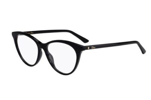 Christian Dior Montaigne57 807/15 BLACK 52 Akinių rėmeliai Moterims