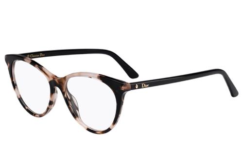 Christian Dior Montaigne57 HT8/15 PINK HAVANA 52 Akinių rėmeliai Moterims