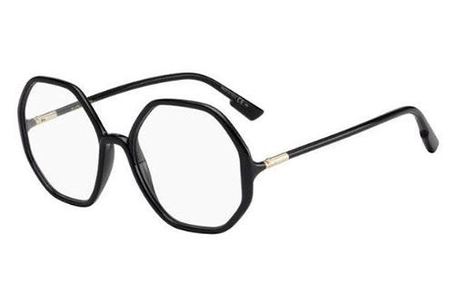 Christian Dior Sostellaireo5 807/19 BLACK 55 Akinių rėmeliai Moterims