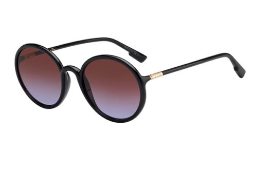 Christian Dior Sostellaire2 807/YB BLACK 52 Akiniai nuo saulės Moterims
