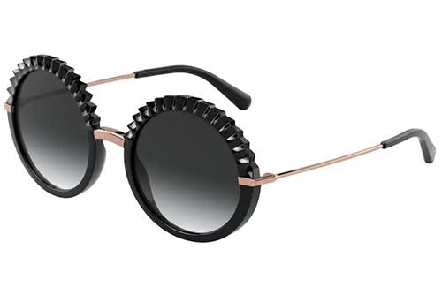 Dolce & Gabbana 6130  501/8G 52 Akiniai nuo saulės Moterims