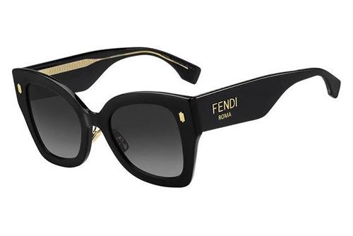 Fendi Ff 0434/g/s 807/9O BLACK 51 Akiniai nuo saulės Moterims