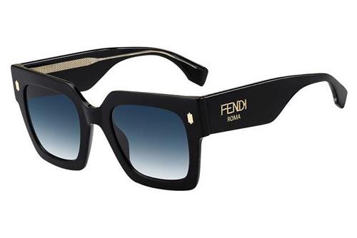 Fendi Ff 0457/g/s 807/08 BLACK 51 Akiniai nuo saulės Moterims