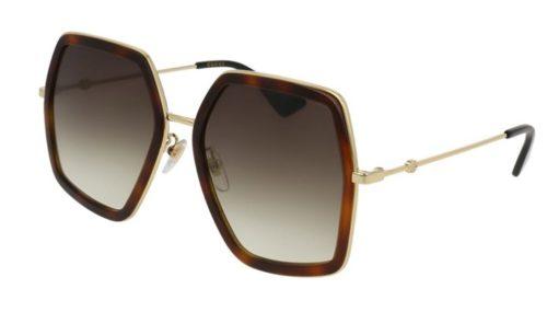 Gucci GG0106S 002-avana 56 Akiniai nuo saulės Moterims