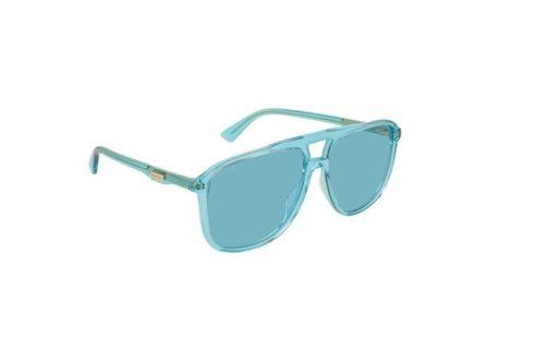 Gucci GG0262S 003-light-blue-light-blue 58 Akiniai nuo saulės Vyrams