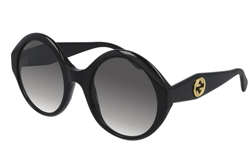 Gucci GG0797S 001 black black grey 54 Akiniai nuo saulės Moterims