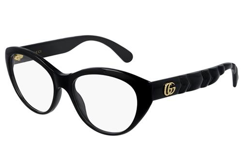 Gucci GG0812O 001 black black transpare 54 Akinių rėmeliai Moterims