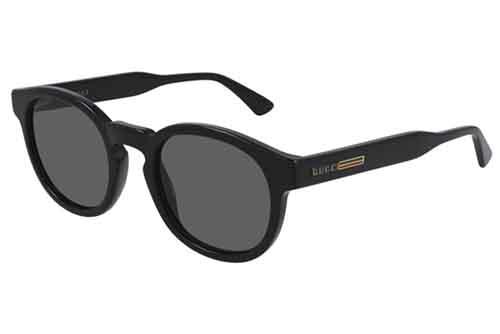 Gucci GG0825S 001 black black grey 49 Akiniai nuo saulės Vyrams