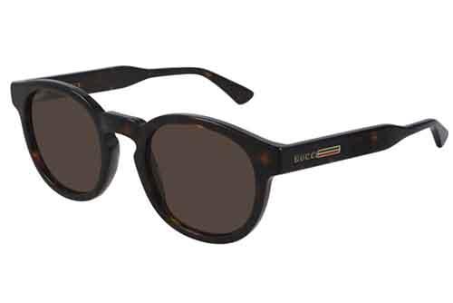 Gucci GG0825S 002 havana havana brown 49 Akiniai nuo saulės Vyrams