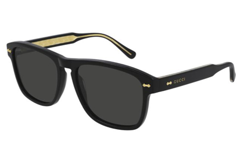 Gucci GG0911S 001 black black grey 58 Akiniai nuo saulės Vyrams
