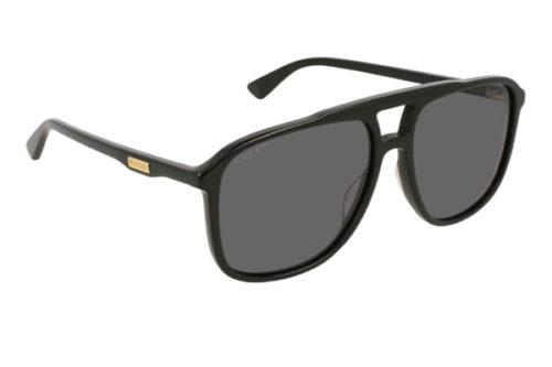 Gucci GG0262S 001 black black grey 58 Akiniai nuo saulės Vyrams