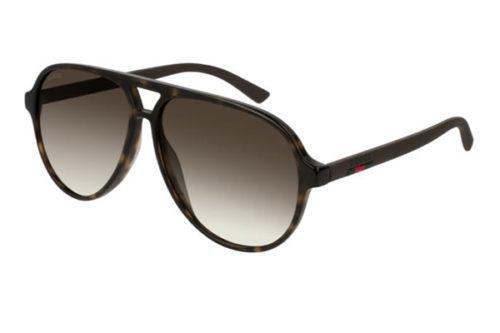 Gucci GG0423S 009 havana brown brown 60 Akiniai nuo saulės Vyrams