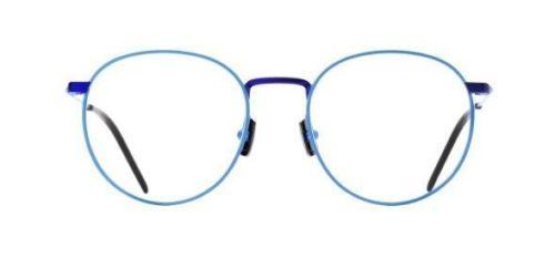 Italia Independent 5305027022 sky led and blue 50 Akinių rėmeliai Unisex