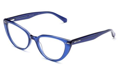 Italia Independent 5862.021.GLS dark blue 51 Akinių rėmeliai Moterims