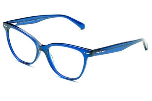 Italia Independent 5863.021.GLS dark blue 53 Akinių rėmeliai Moterims