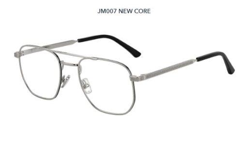 Jimmy Choo Jm007 807/21 BLACK 54 Akinių rėmeliai Vyrams