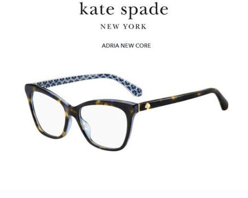 Kate Spade Adria IPR/16 HAVANA BLUE 52 Akinių rėmeliai Moterims