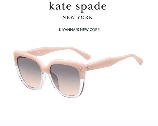Kate Spade Kiyanna/s 35J/FF PINK 55 Akiniai nuo saulės Moterims