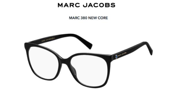 Marc Jacobs Marc 380 807/17 BLACK 53 Akinių rėmeliai Moterims