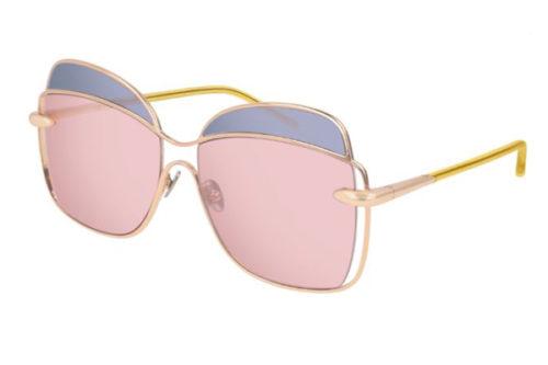 Pomellato PM0057S 003 gold yellow pink 57 Akiniai nuo saulės Moterims