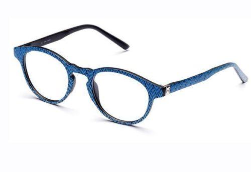 Pop Line IV052.GEO.022 geometric blue 49 Akinių rėmeliai