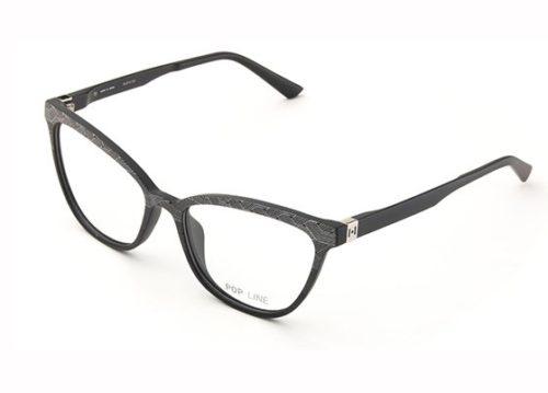 Pop Line IV060.TWI.009 gradient twist black&whit 54 Akinių rėmeliai