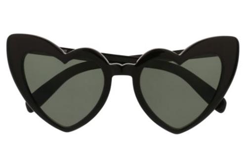 Saint Laurent SL 181 LOULOU 001 black black grey 54 Akiniai nuo saulės Moterims