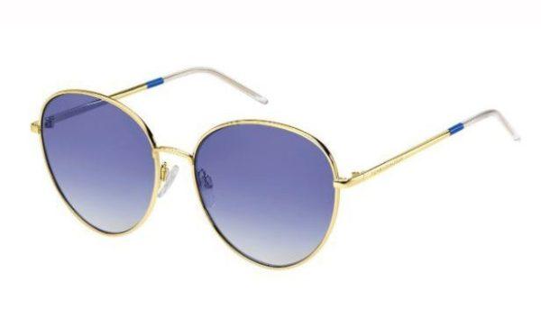 Tommy Hilfiger Th 1649/s LKS/08 GOLD BLUE 58 Akiniai nuo saulės Moterims