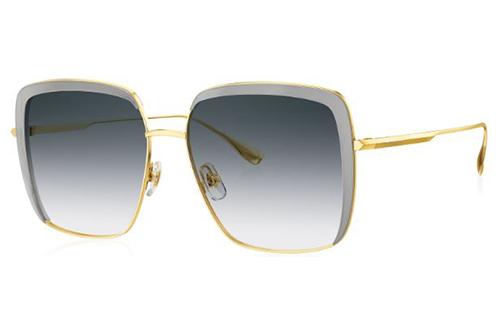 Bolon BL6098 C12 gold transparent gray 56 Akiniai nuo saulės Moterims