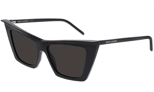 Saint Laurent SL 372 001 black black black 54 Akiniai nuo saulės Moterims