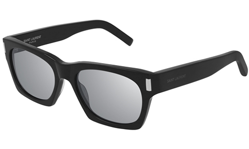Saint Laurent SL 402 002 black black silver 54 Akiniai nuo saulės Unisex