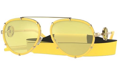 Versace 2232  14736D 61 Akiniai nuo saulės Moterims
