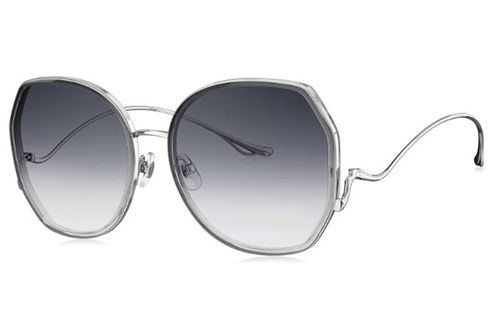 Bolon BL6085A12 transparent grey gradient 59 Akiniai nuo saulės Moterims