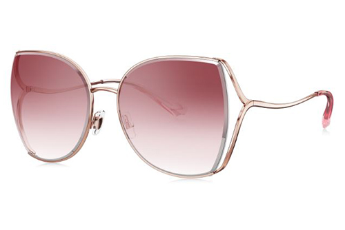 Bolon BL7082A31 pink gold 56 Akiniai nuo saulės Moterims