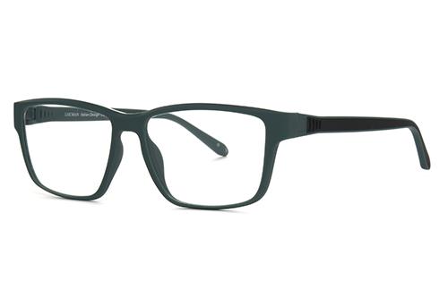 Locman LOCV010/BGR black green 57 Akinių rėmeliai