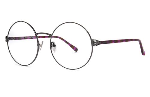 Locman LOCV013/PUR purple 58 Akinių rėmeliai