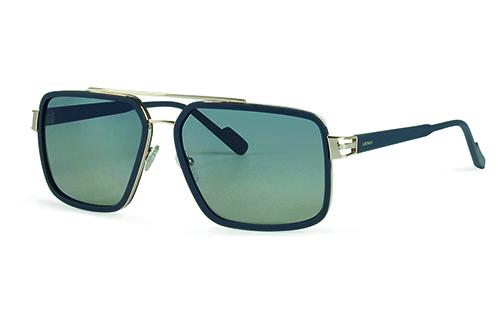 Locman LOCS001/02 blue/gold 60 Akiniai nuo saulės
